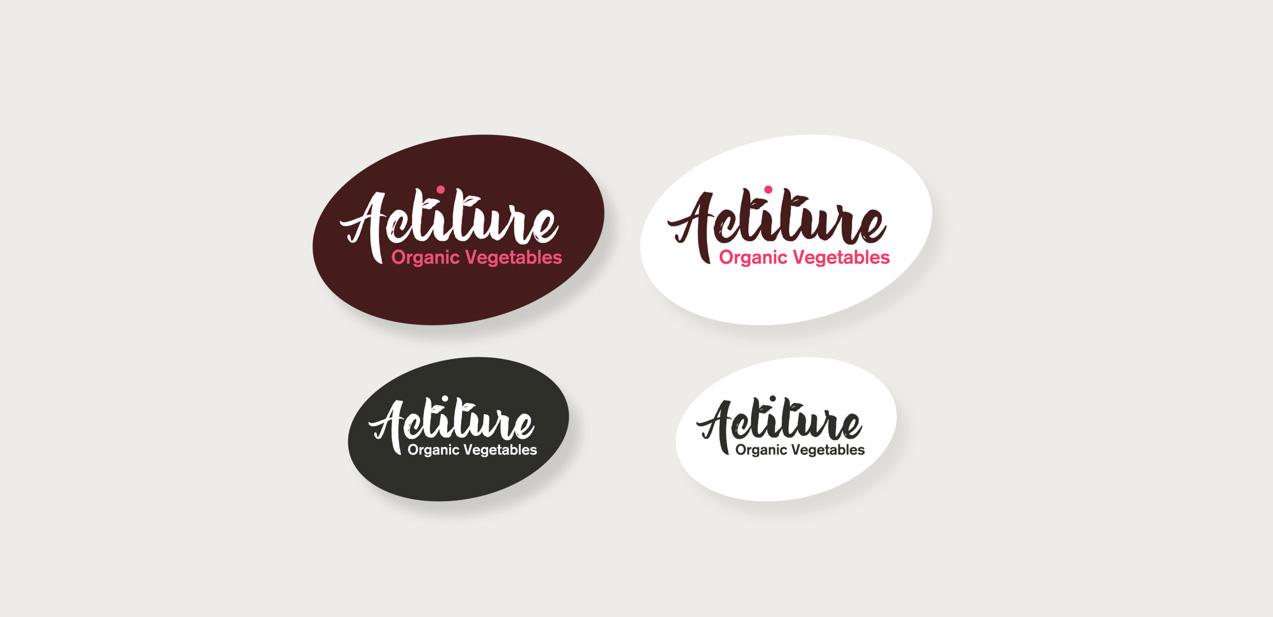 diseño de logo y naming de Actiture