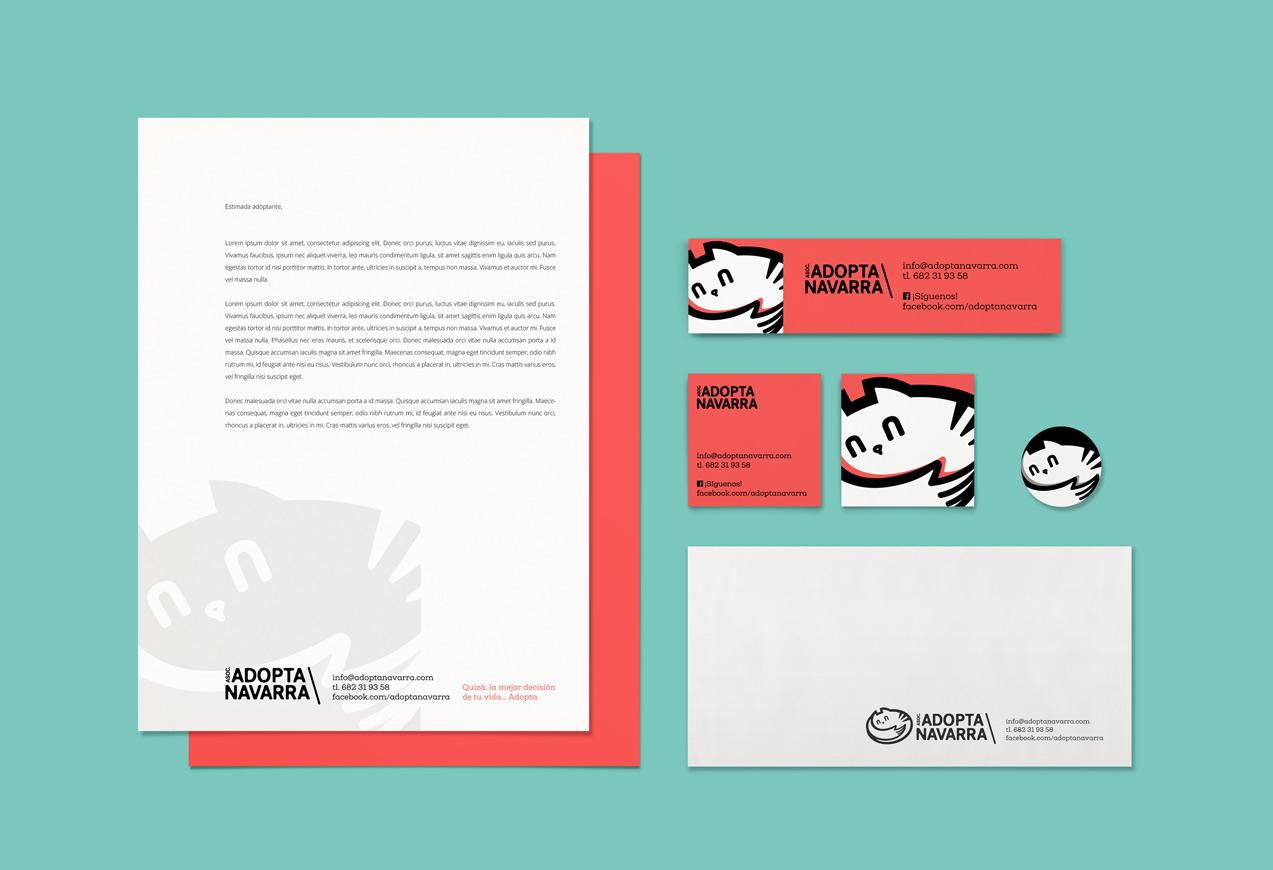 diseño de aplicaciones corporativas de Adopta Navarra