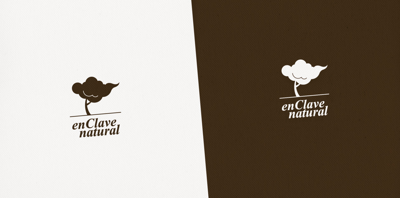 diseño de logotipo de En Clave Natural