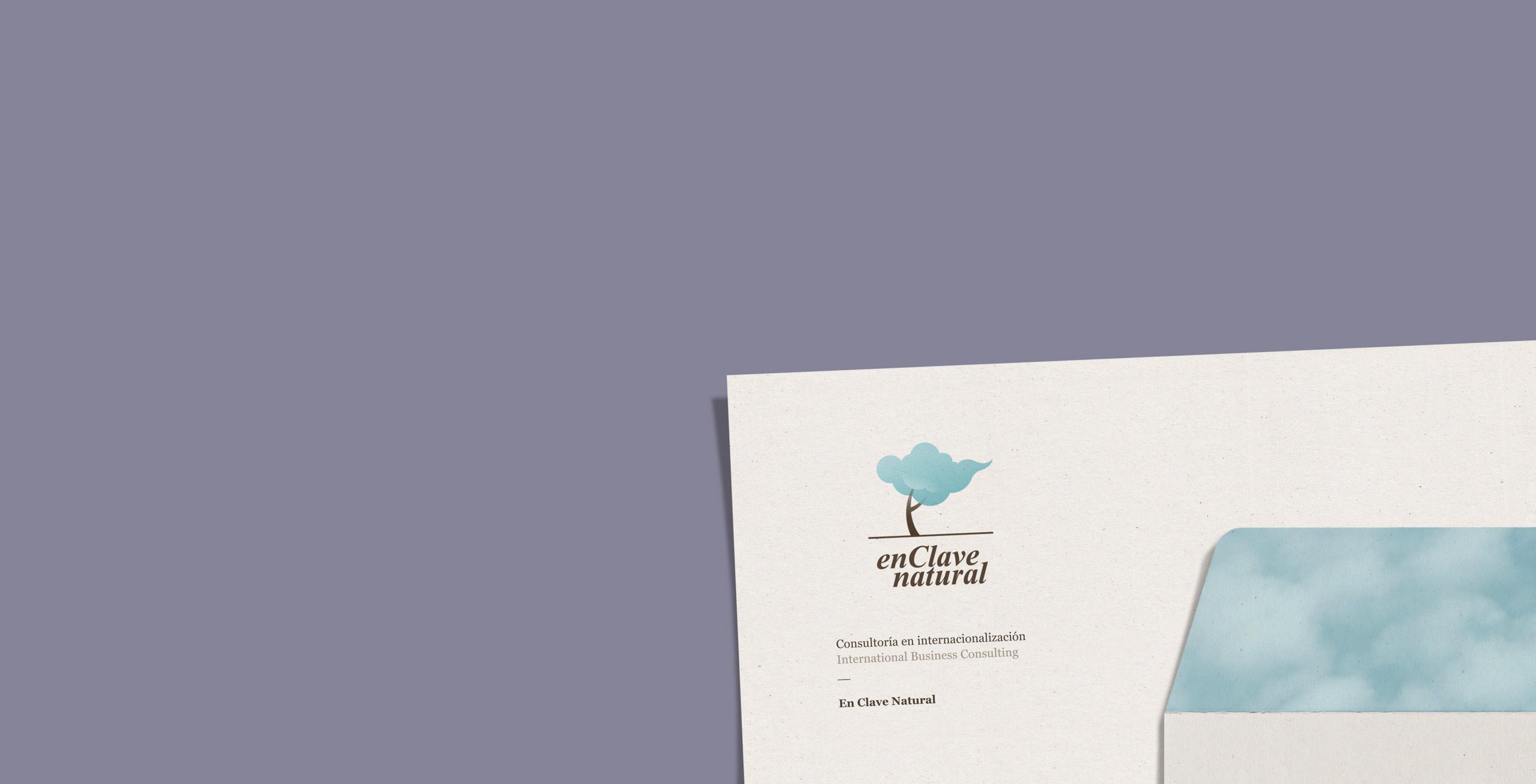 diseño de identidad corporativa de En Clave Natural