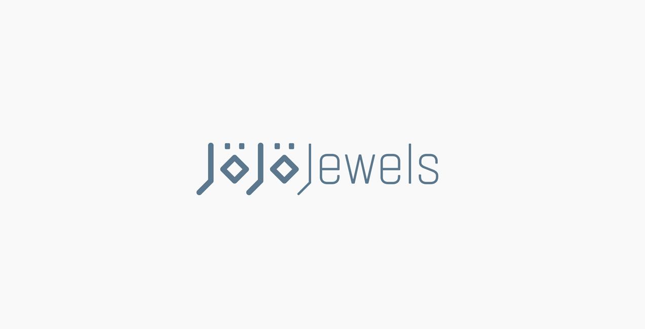 diseño de logo de jojo jewels
