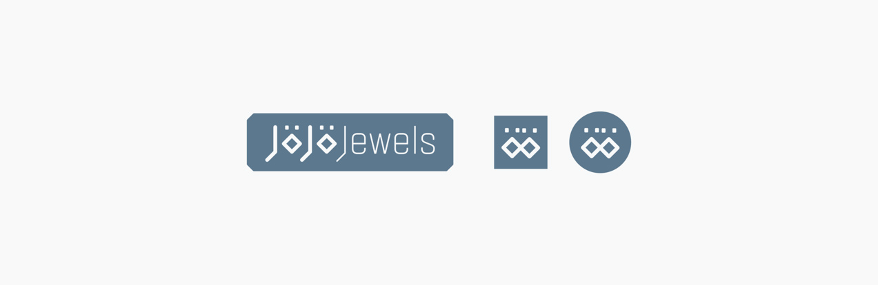 diseño de logotipo responsivo de jojo jewels