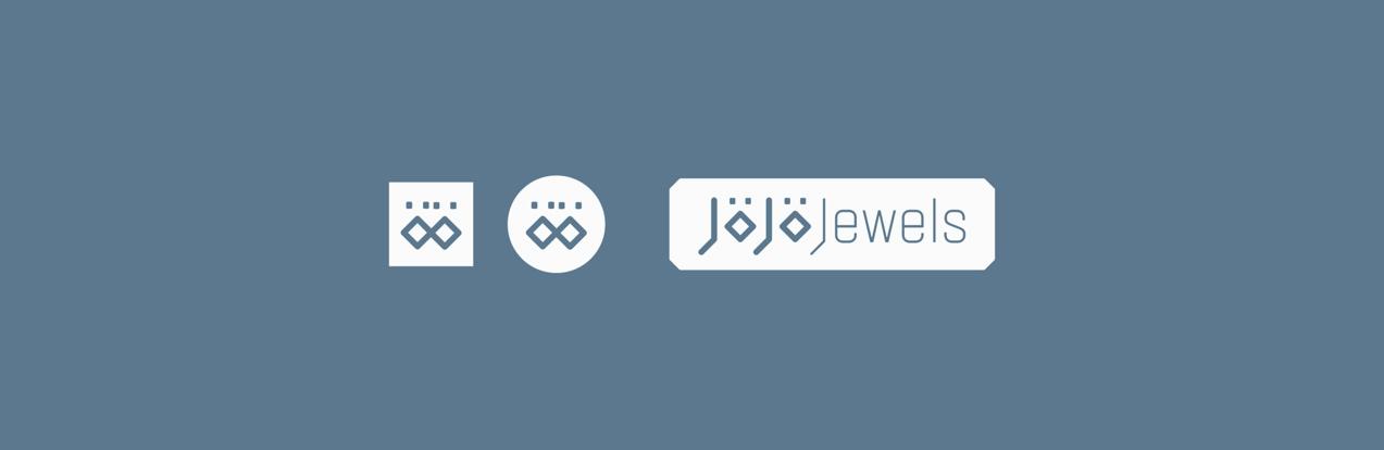 diseño de versiones de logo de jojo jewels