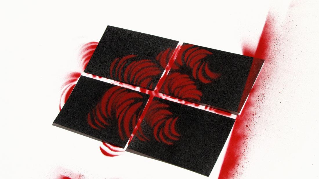 diseño de tarjetas de visita de mosiq body mod tattoo piercing & wall art