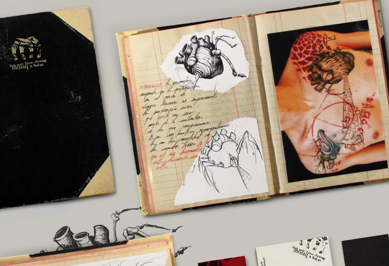 fotografía promocional de mosiq body mod tattoo piercing & wall art