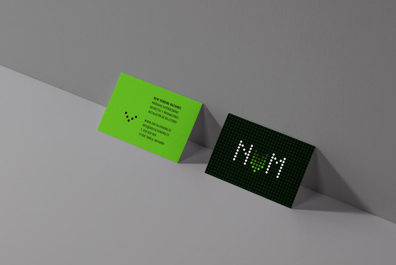 Diseño de tarjetas de visita para NVM