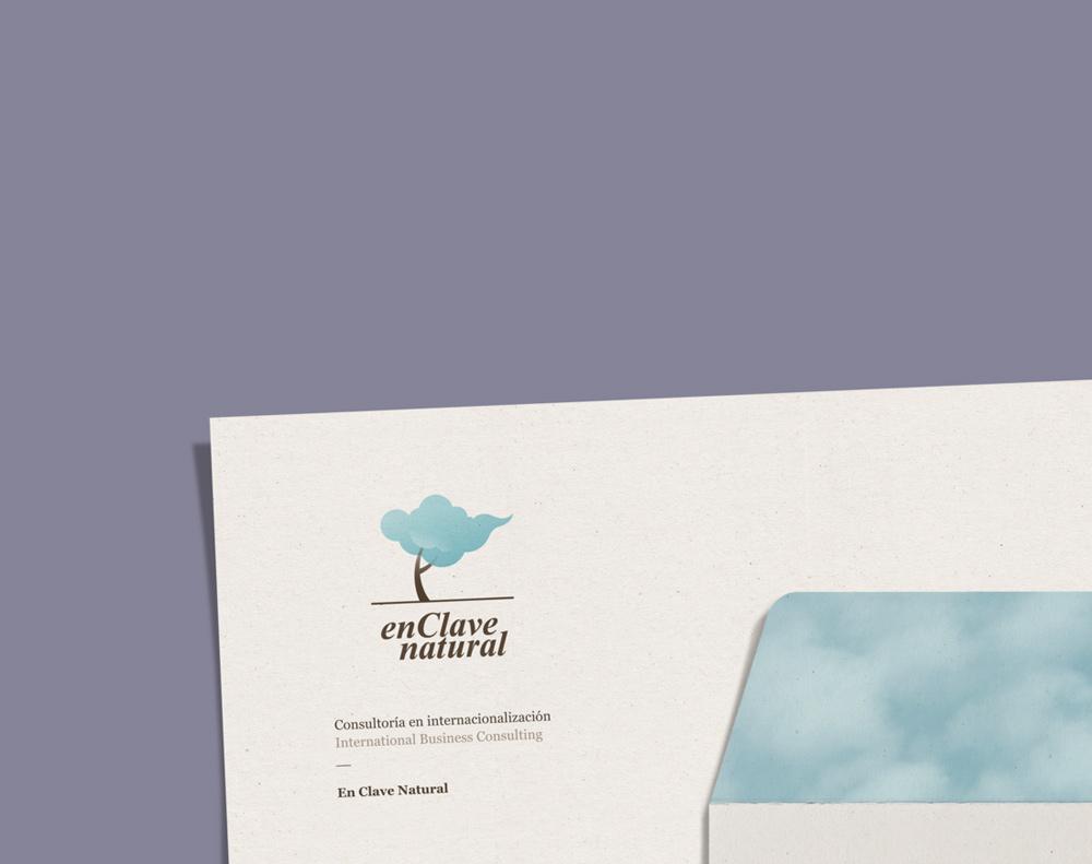 diseño de logotipo para En Clave Natural