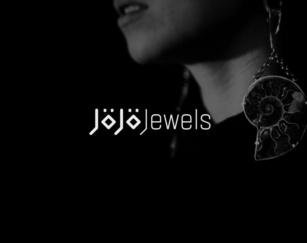 presentación de diseño de logotipo para Jojo Jewels Barcelona