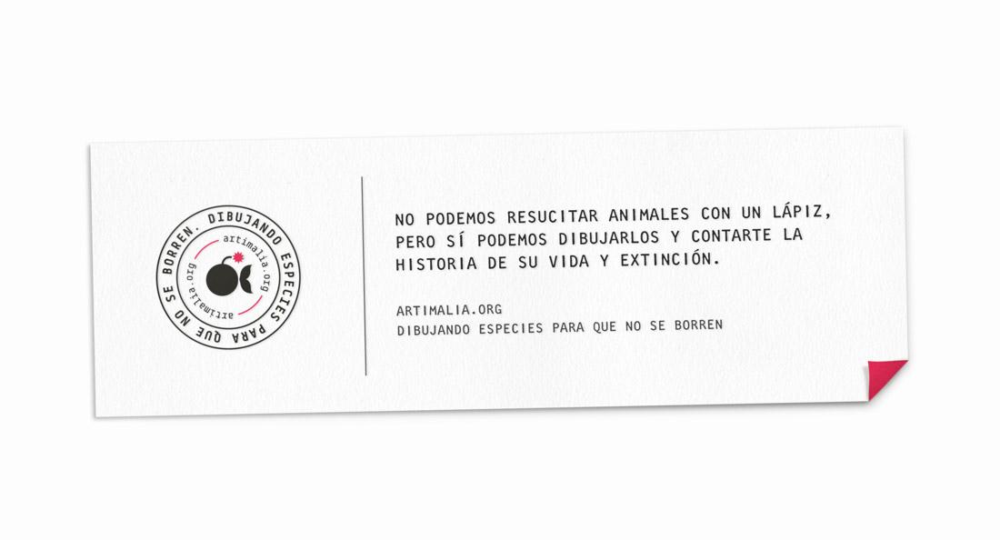 diseño de slogan y logo de Artimalia