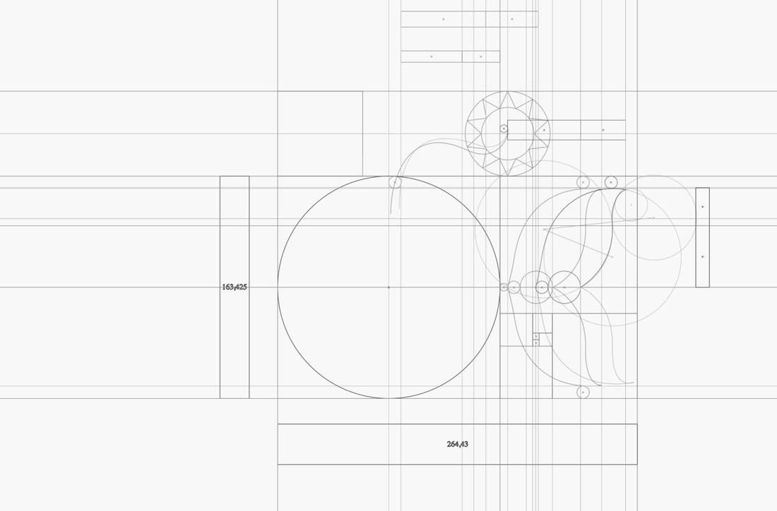detalle de diseño de logotipo de Artimalia