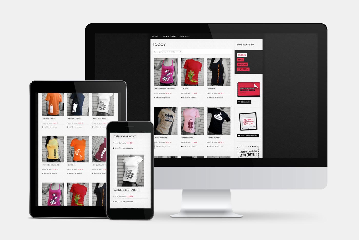 diseño de catálogo de productos para venta online para Caravelusa