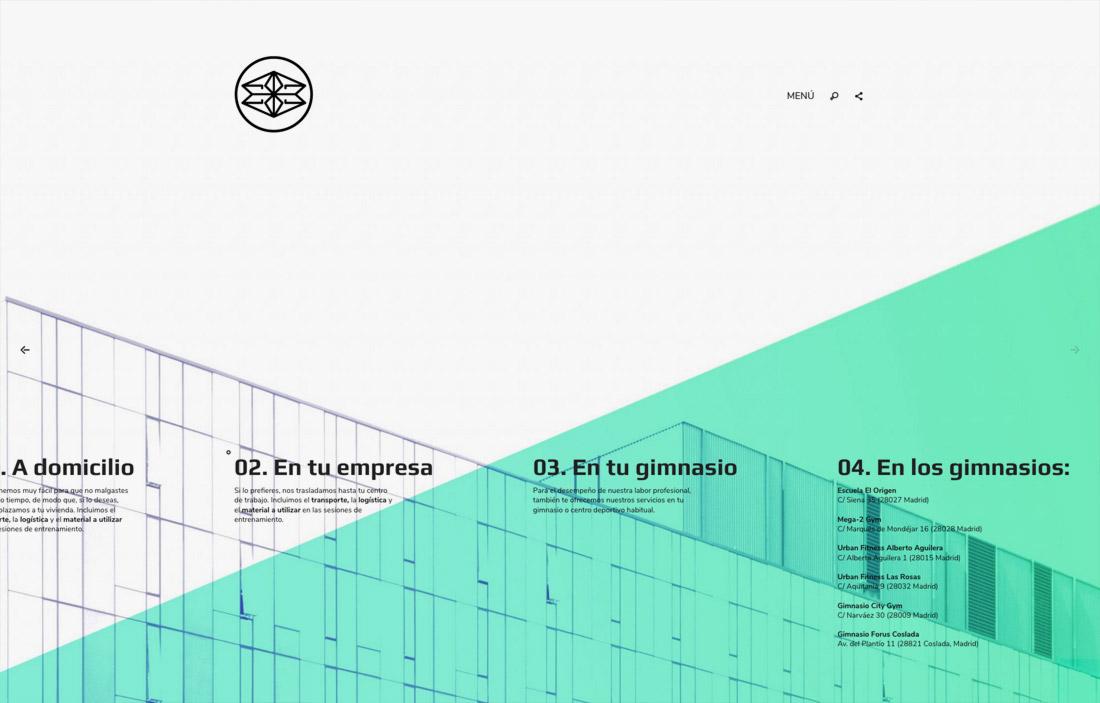 diseño de slide para presentación de servicios para Éxito 28 Madrid