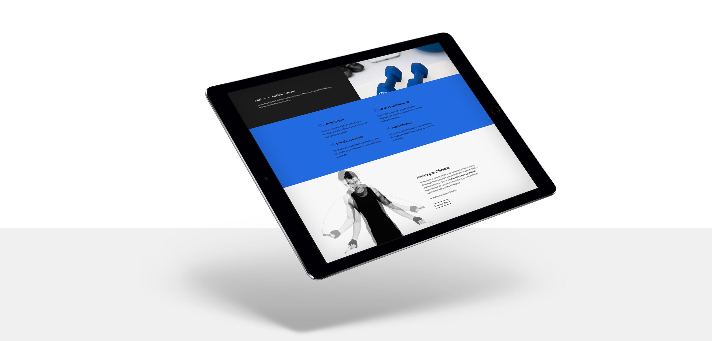diseño web para entrenador personal Éxito 28 Madrid