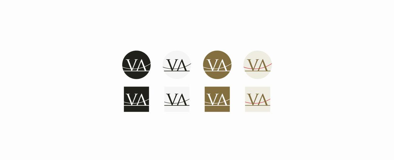 diseño de avatares para redes sociales para Via Appia Ingeniería y Estudios de Obra