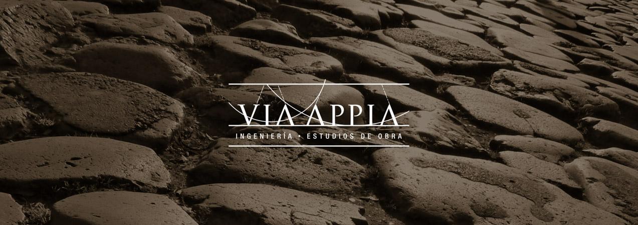 diseño de banner digital para Via Appia Ingeniería y Estudios de Obra