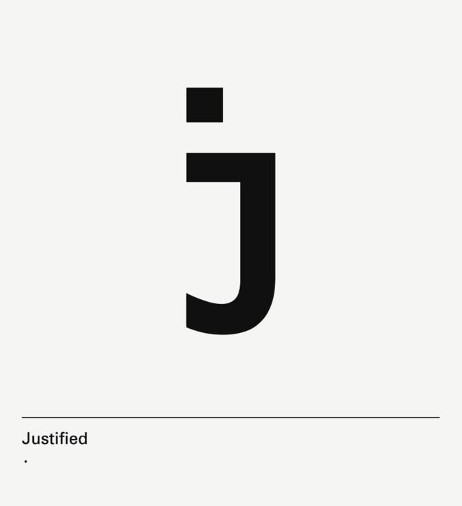 diseño de lámina Alphabet by Minimizán letra J