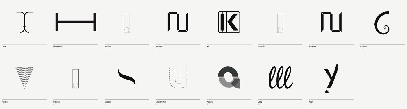 diseño de lámina Alphabet by Minimizán