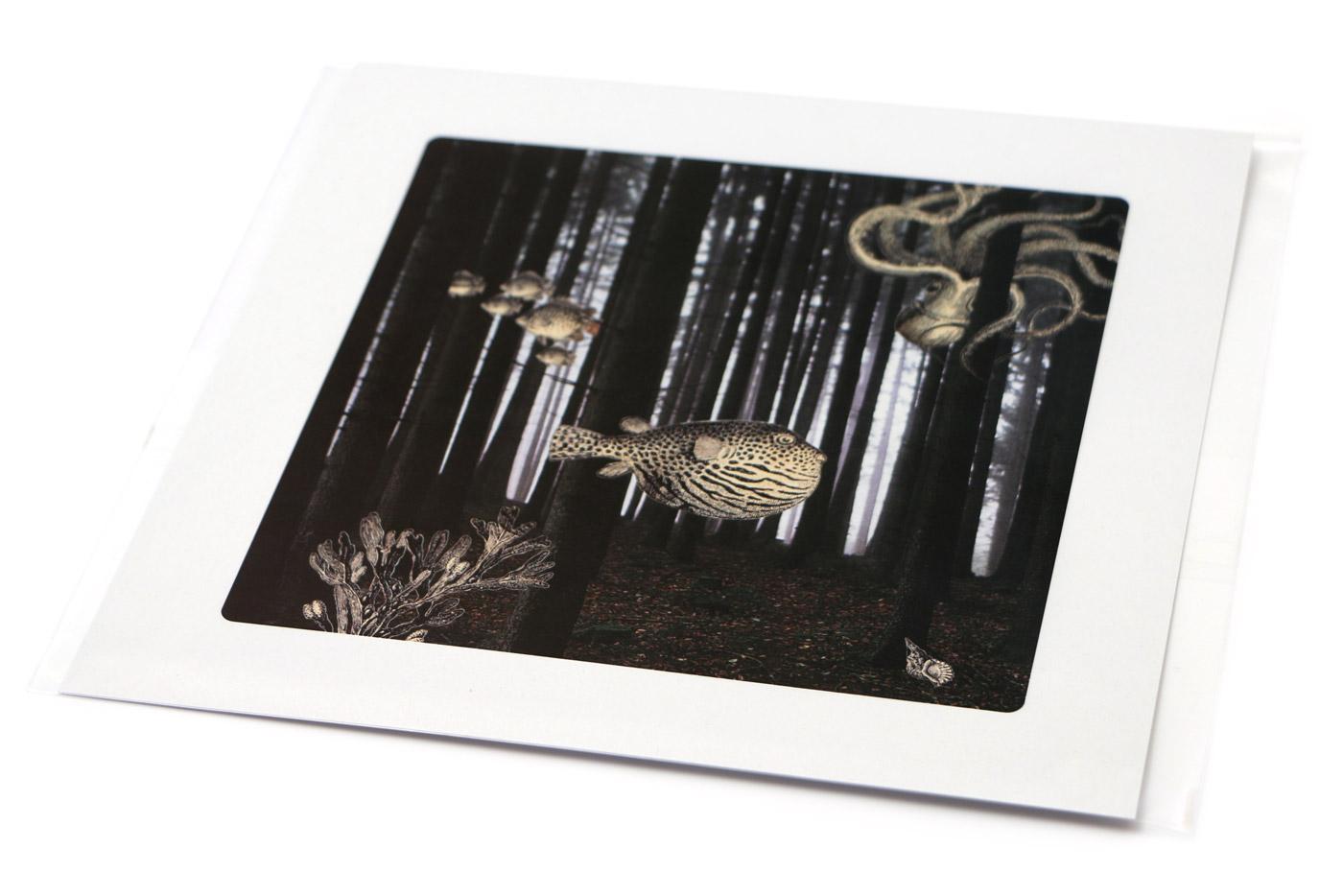 lámina forest de la coleccion Semantica visual de Amaya Oyón