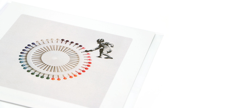 Laminas de la coleccion Semantica visual de Amaya Oyón presentación de 1 lámina