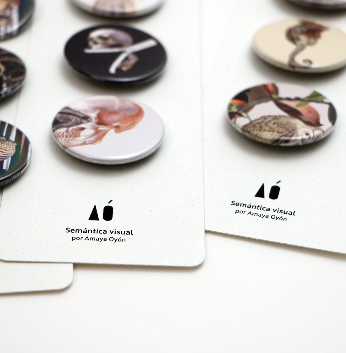 packs trichapicos de la coleccion Semantica visual de Amaya Oyón