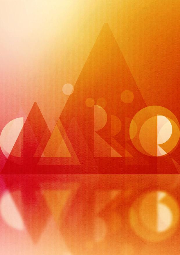 diseño de poster para NEUE Show Us Your Type ciudad EL Cairo