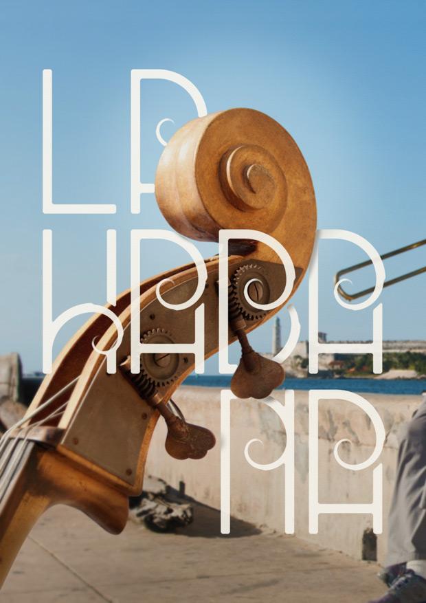 diseño de poster para NEUE Show Us Your Type ciudad La Habana