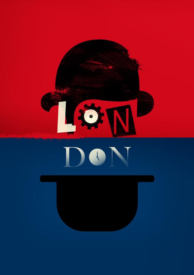 diseño de poster para NEUE Show Us Your Type ciudad London