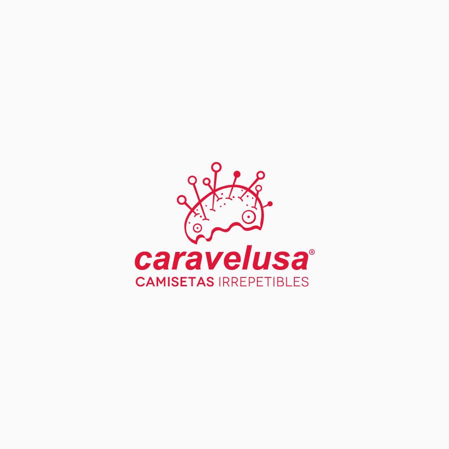diseño de logotipo de Caravelusa