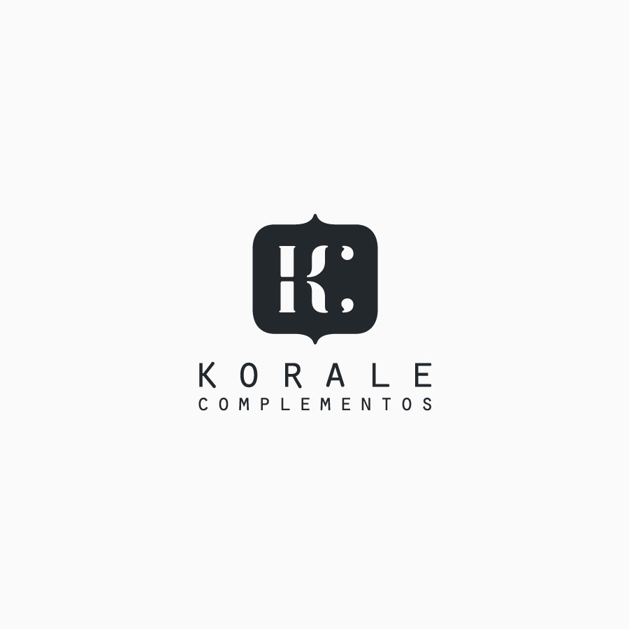 diseño de logotipo de Korale Complementos