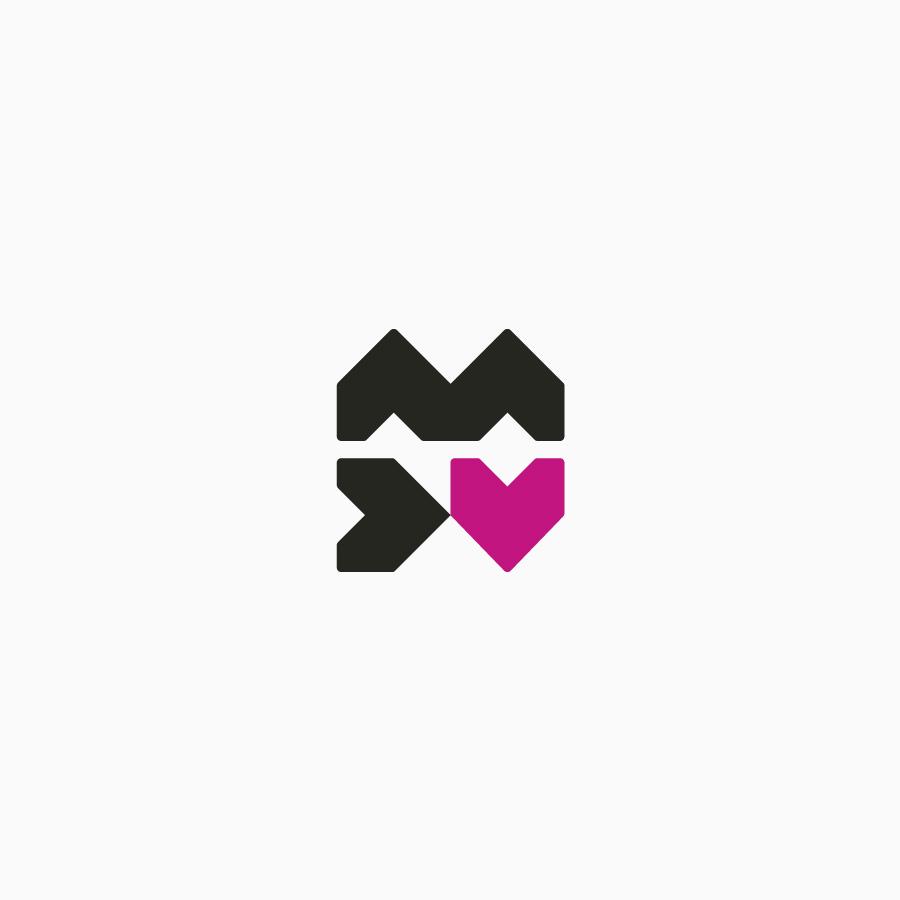diseño de logotipo de MDV