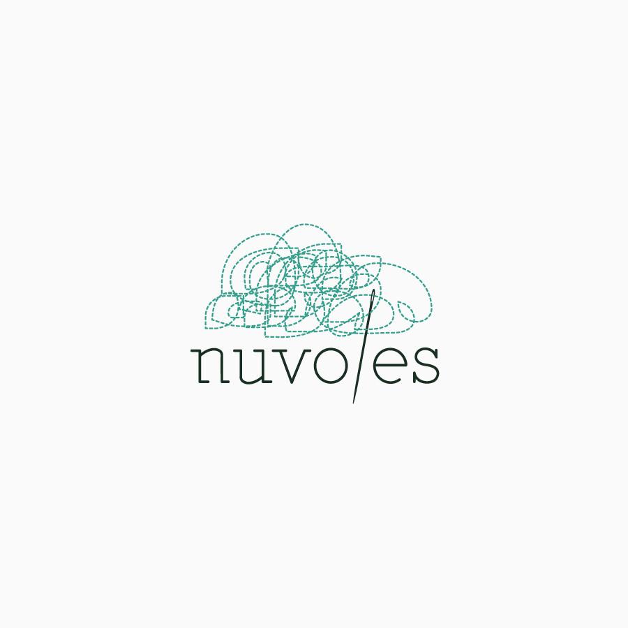 diseño de logotipo de Nuvoles