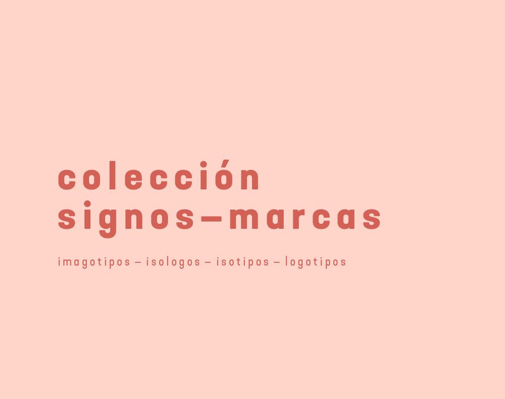 imagen tipográfica de colección de logotipos diseñados