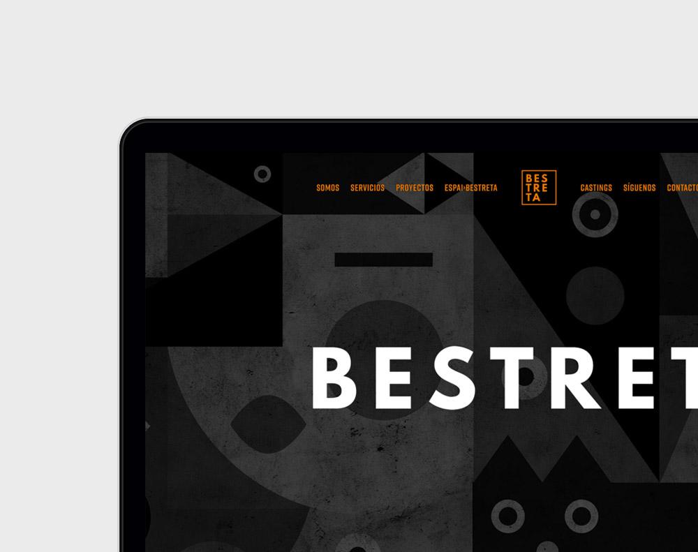 diseño de página web para Bestreta